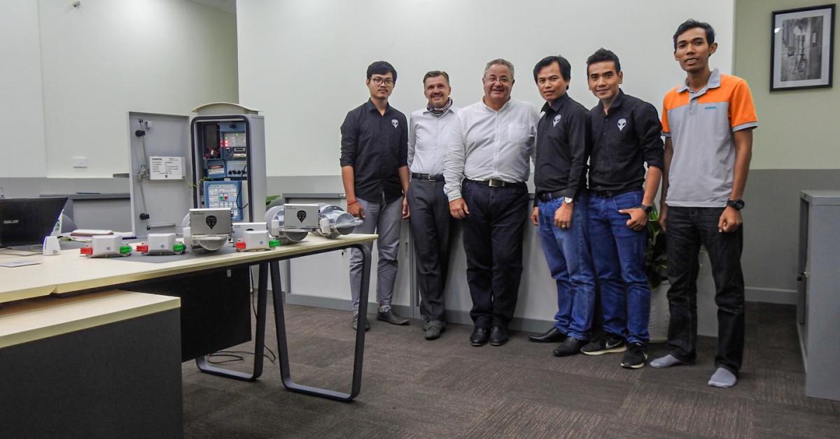 Siemens Team Visits VP.Start