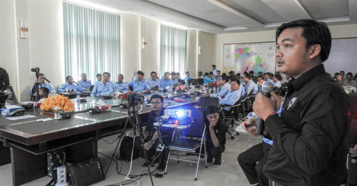 VP.Start Presents Its SCADA & Remote Control Systems To EDC Battambang